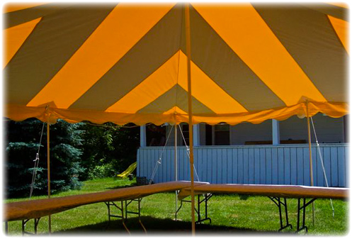 party tent rentals, Millbrook, Poughkeepsie, Wappingers Falls, Dutchess County New York