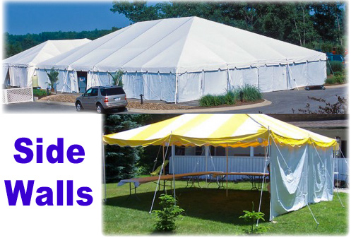 party tents with side walls, graduation parties, communion, July 4th party, Memorial Day party, Hudson Valley NY