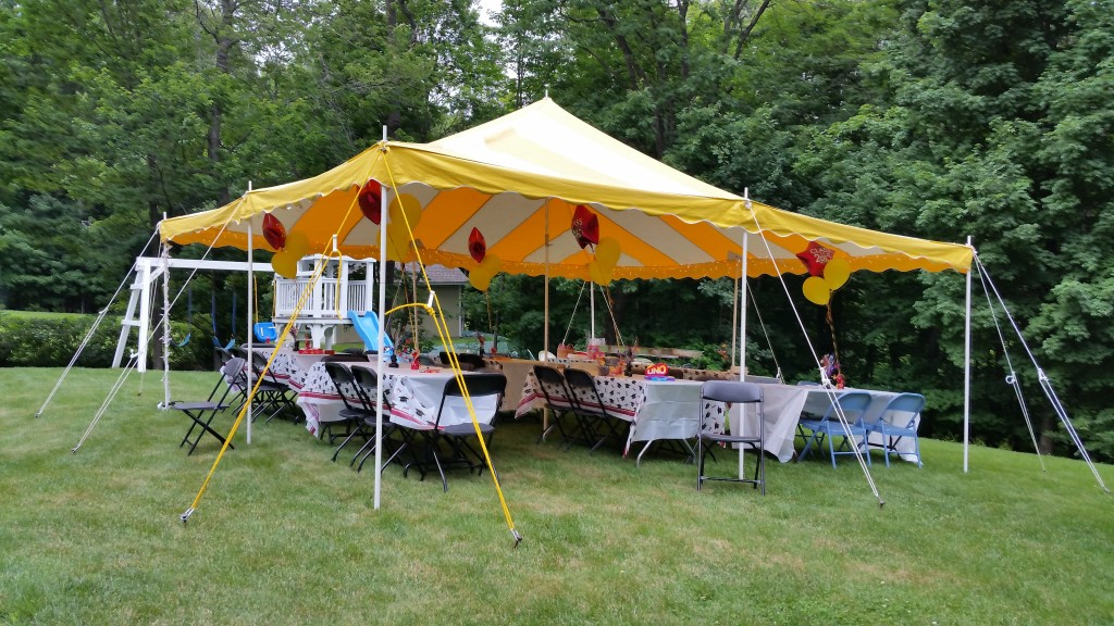 rent a party tent Dutchess County