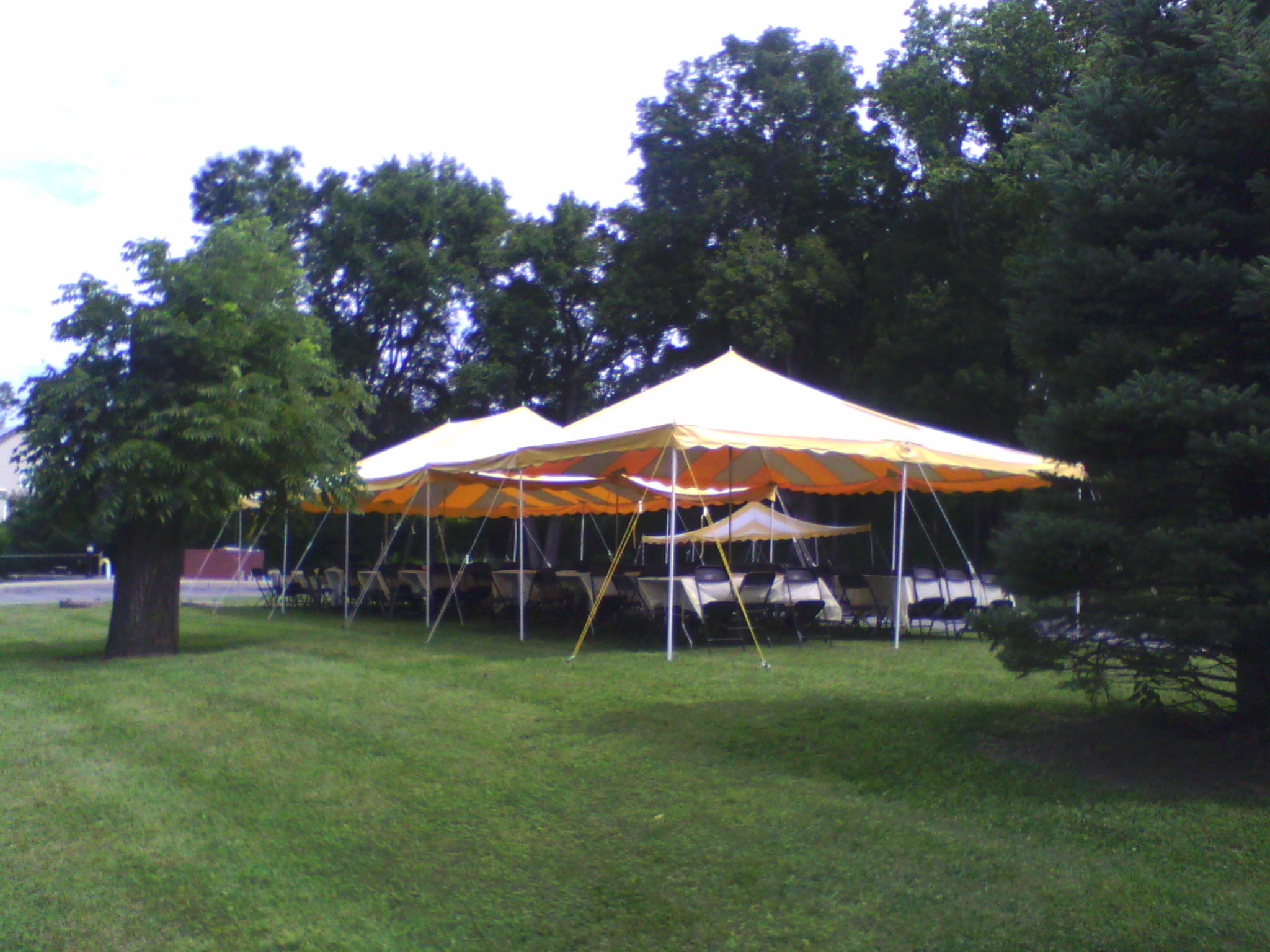 Party Tents Tables Chairs Birthday Parties Communion Graduation Backyard