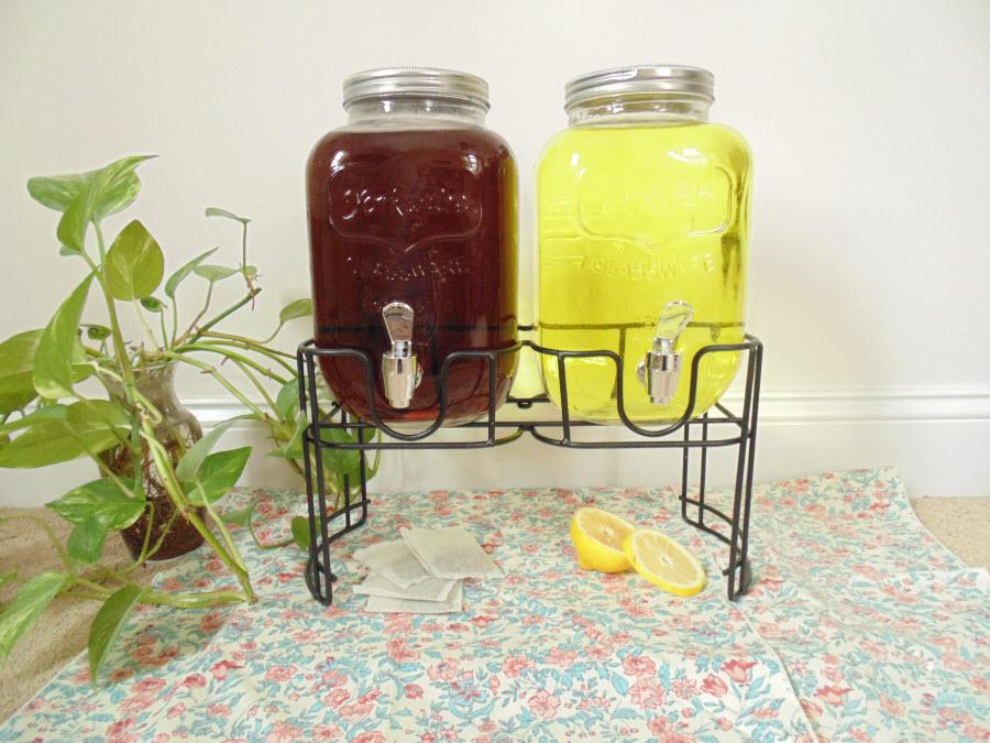 Dual Glass Drink Dispenser Image