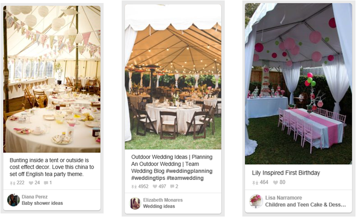 party tents dutchess county & Party Tent Decorating Ideas |