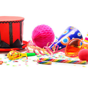 circus-themed birthday parties